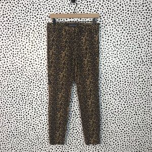 The limited size 2 cheetah dress pants